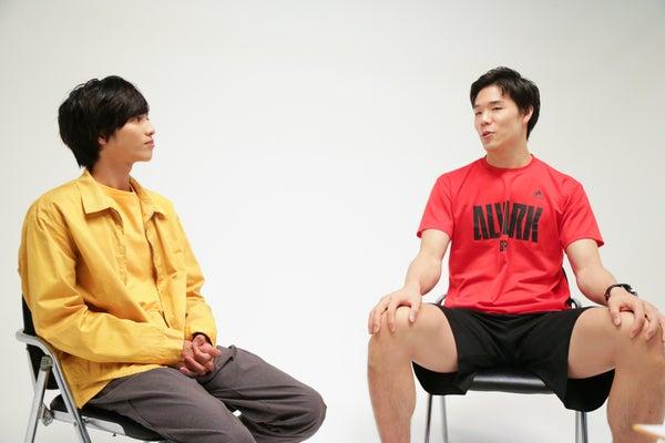 志尊×A東京 #6 馬場 対談の様子